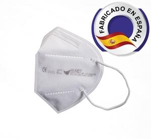 Mascarilla FFP2 NR blanca fabricada en España