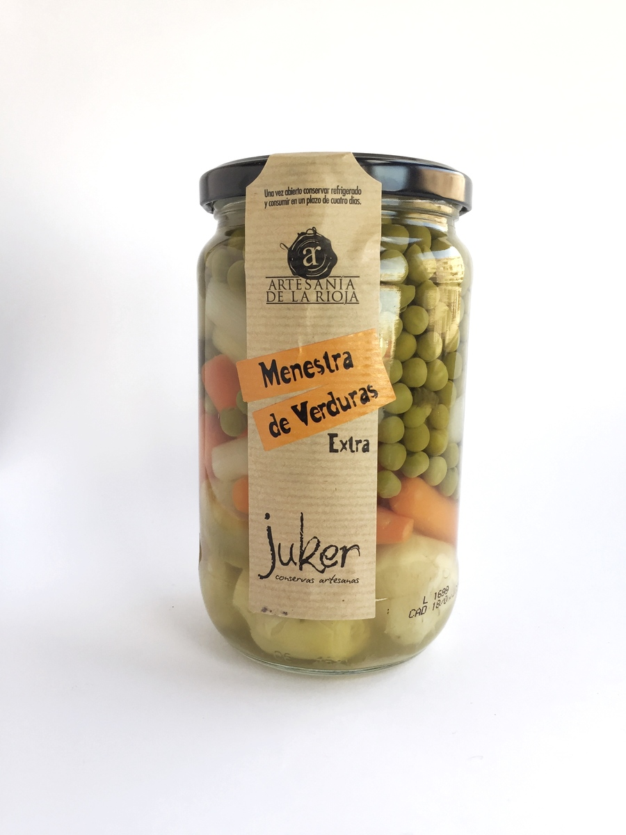 Menestra de Verduras Extra de Juker