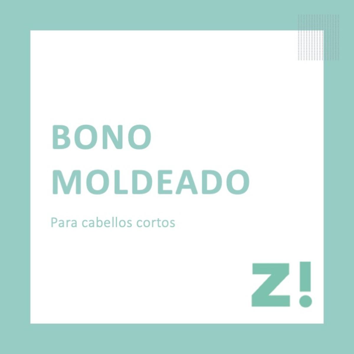 Bono moldeado cabello corto PARA CANJEAR EN PASSARÓ PLAZA SAN BRIZ