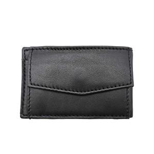 Monedero/Billetero mini Lugupell negro