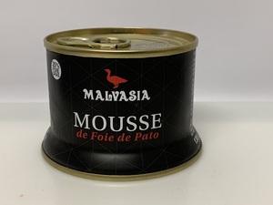 """Mousse de pato """"Malvasia"""" 130gr."""