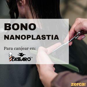Bono nanoplastia PARA CANJEAR EN PASSARÓ PLAZA SAN BRIZ