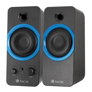 ALTAVOCES STEREO NGS GSX-200 2.0 SUPERBASS 20W