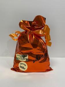 Naranja con chocolate Micheto. 500 grms.