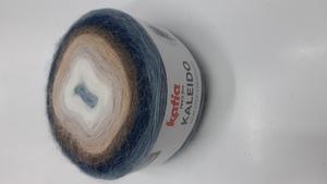 Ovillo lana Kaleido azules