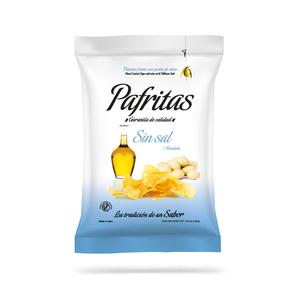 Patatas fritas Pafritas sin sal 140 g