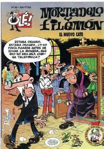 OLE MORTADELO Y FILEMON n. 80