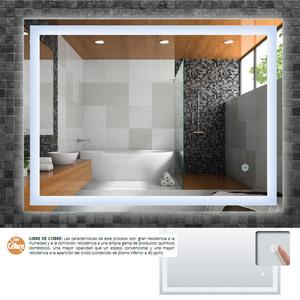 Espejo de baño HOLLY 80 x 60 cm.  LED