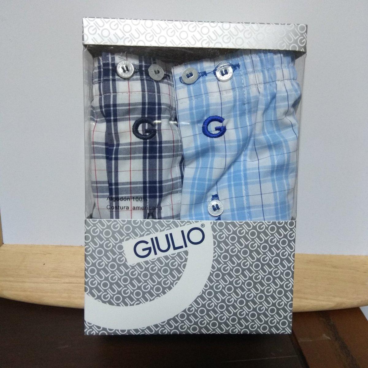 PACK2 CALZONCILLOS GIULIO TELA