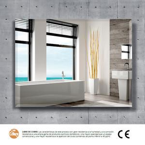 Espejo de baño SLIM 80 x 60 cm.  Biselado