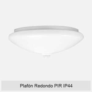 PLAFÓN REDONDO PIR IP44