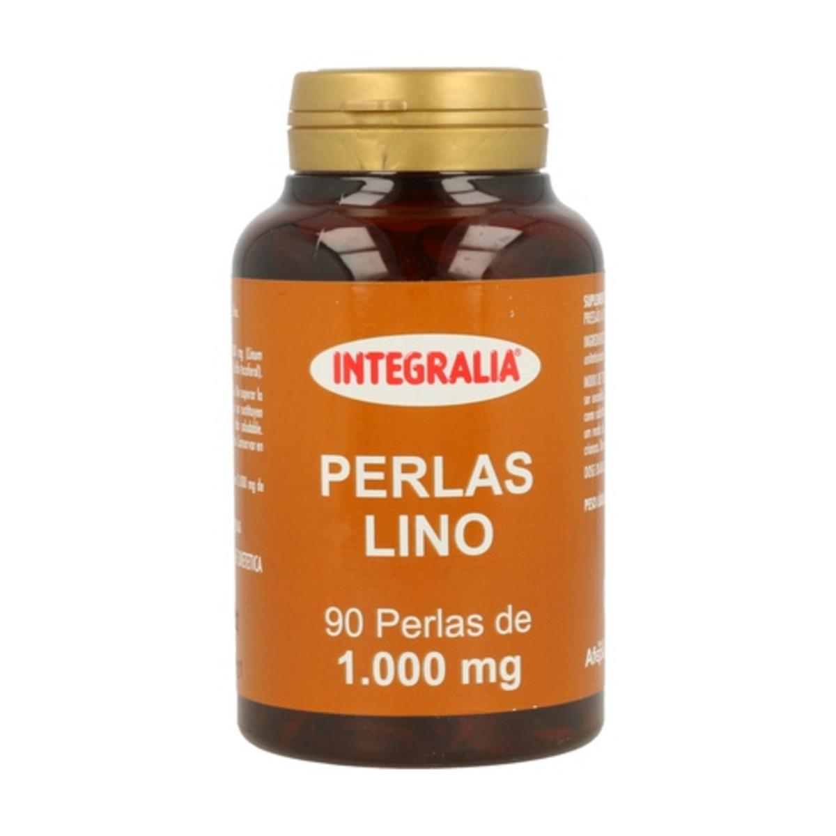 Perlas Lino 1000mg 90 perlas. Integralia