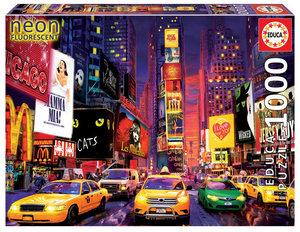 PUZZLE EDUCA 1000 PIEZAS NEON TIMES SQUARE, NUEVA YORK