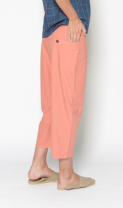 Pantalón de algodón coral