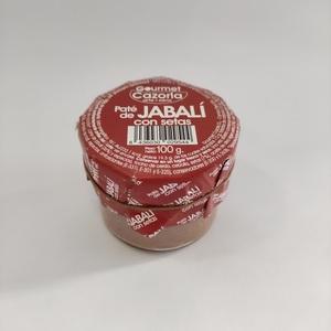 Paté de Jabalí con setas