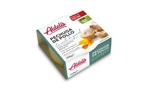 Pechuga de Pollo en Aceite de Girasol Aldelis
