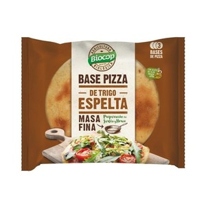 Base pizza espelta fina BIOCOP 390 gr BIO