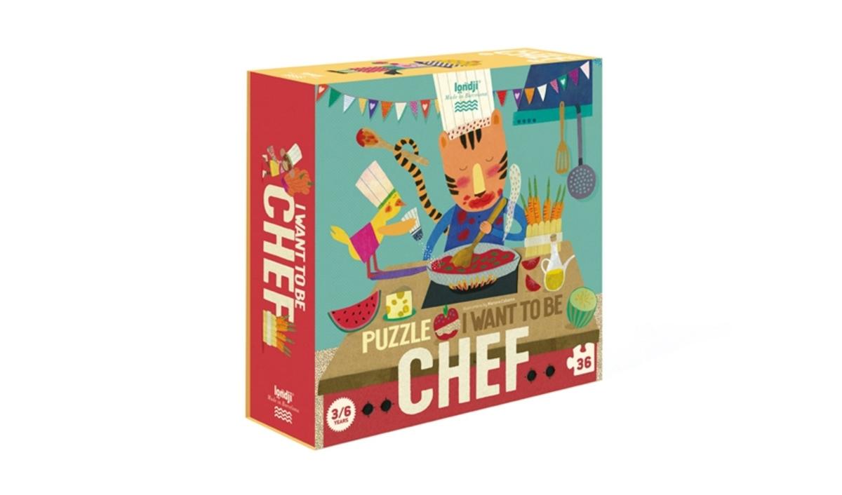 Puzzle chef | Envío 24/48 horas | Zerca