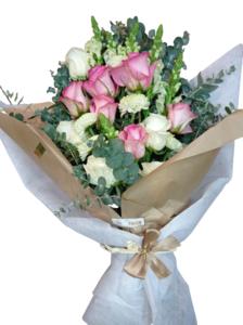 Ramo de flores de rosas