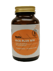 Rice plus Q10, 45 cápsulas (Lab. NATIVO)