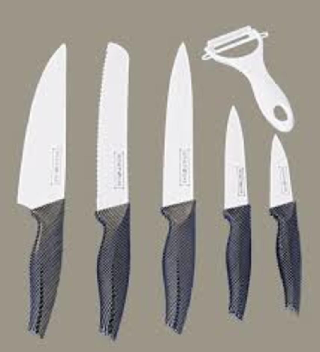 Juego de cuchillos 5+1