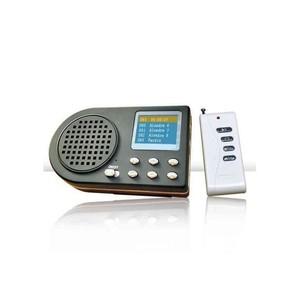 Reclamo digital_reproductor electrónico con mando