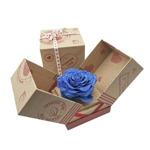 Rosa XXL en caja de cartón