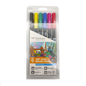 Rotuladores acuarelables Tombow