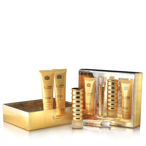 Estuche Gold mujer 100v + 20v +gel + body