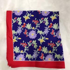 Pañuelo Seda flores