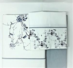 Juego de sábanas estampado flores