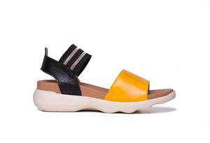 Sandalias cómodas ALODA Miel