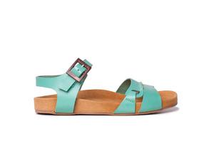Sandalia cómoda ENTIBO Turquesa