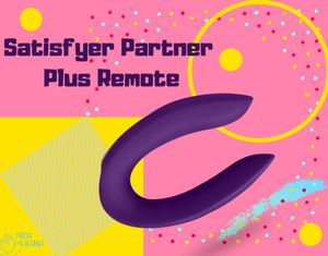 Satisfyer Partner Plus Remote – Estimulador / Vibrador para parejas con control Remoto