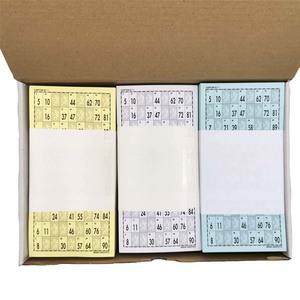 Serie de 900 Cartones Bingo