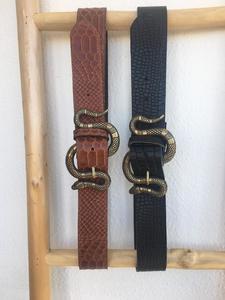 Cinturón mujer serpiente