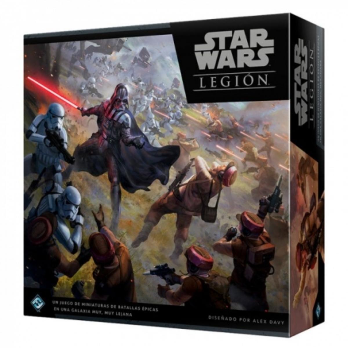 Star Wars Legion -Caja De Incio Imperio Vs Rebelión