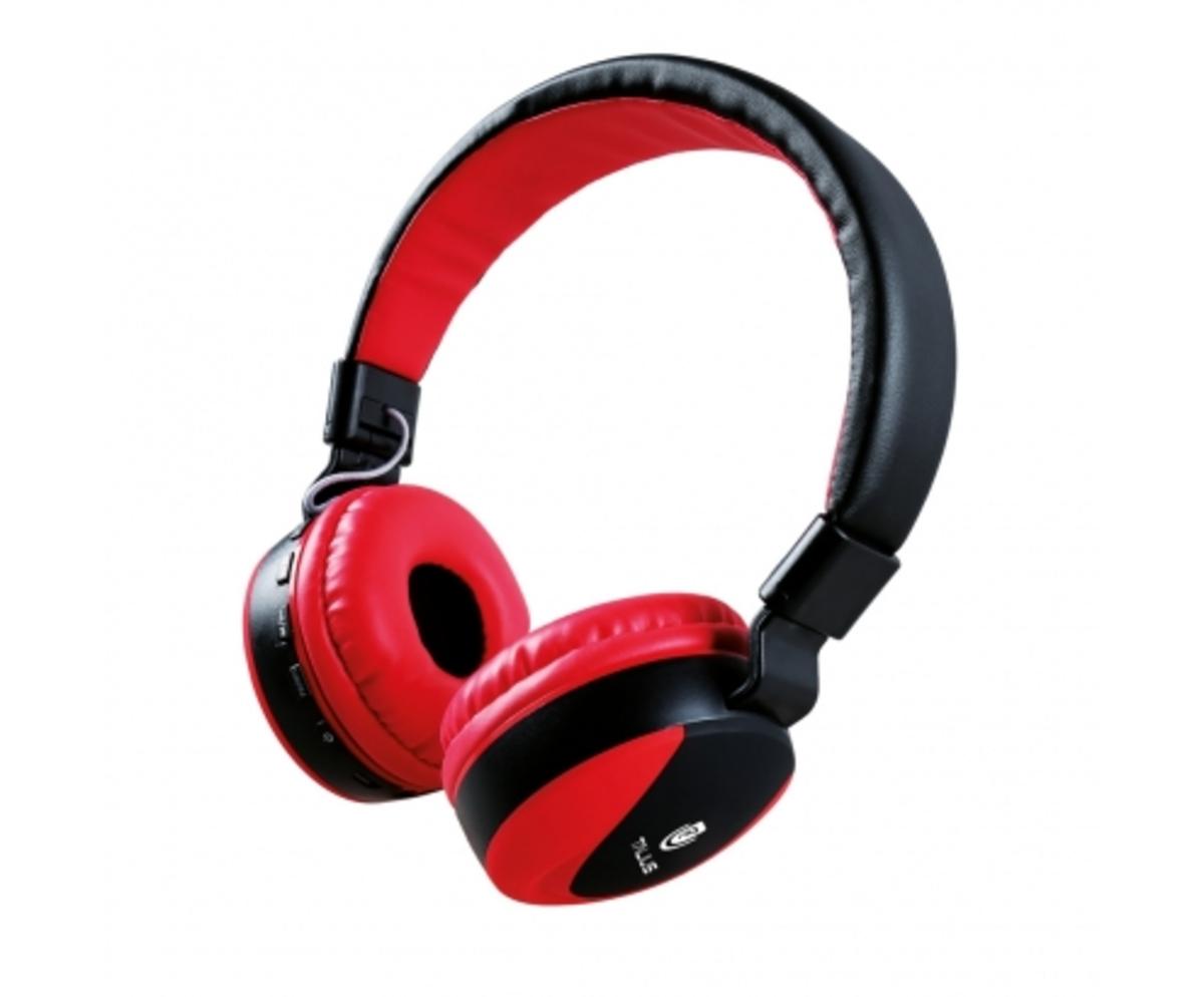 Talius auricular TAL-HPH-5006BT FM/SD bluetooth red