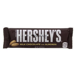 Hershey's milk chocolate with almonds 41g