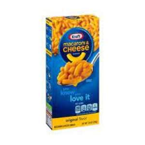 Kraft mac & cheese 206g