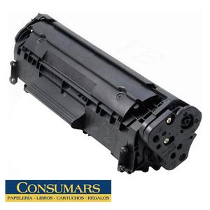 Tóner Compatible HP 12A Negro