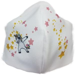 Mascarilla de Tela - Unicornio Infantil