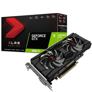 Tarjeta Gráfica PNY VGA NVIDIA GTX 1660 Ti 6GB DDR6
