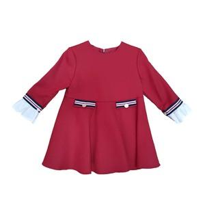 Vestido Infantil Rojo Yoedu