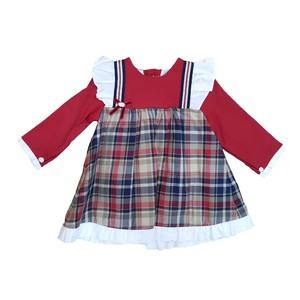 Vestido Vestir Rojo/Cuadros Yoedu