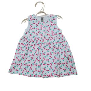 Vestido de bebé con cerezas