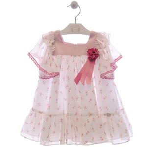 """Vestido infantil niña """"Familia Murillo""""- MARTA Y PAULA."""