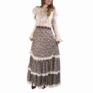 Vestido largo romántico