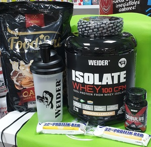 PACK ISOLATE WHEY 100 CFM WEIDER