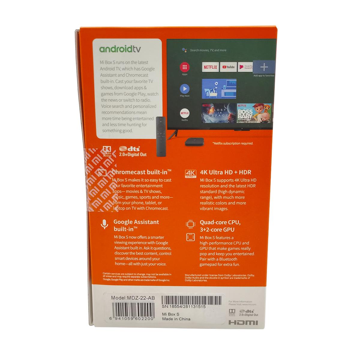 Xiaomi MiBox S - Android TV